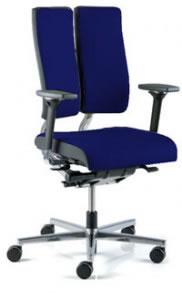 Ergonomischer Bürostuhl Duo Back Balance für das aktive dynamische Sitzen