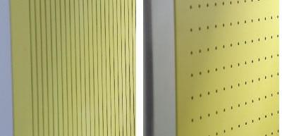 Akustikwand gelocht - lamelle