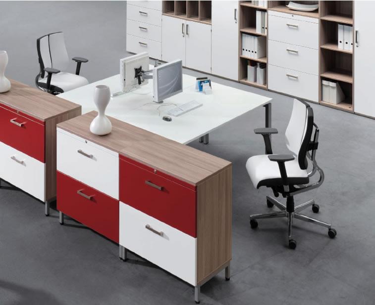 Büromöbel Schrankwand Schreibtische Bürostühle open Office