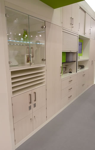 Büroschrank - Schranksystem - Schrankwand