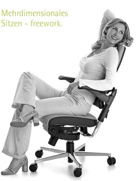 Xenium freework Bürostuhl als Geschenk