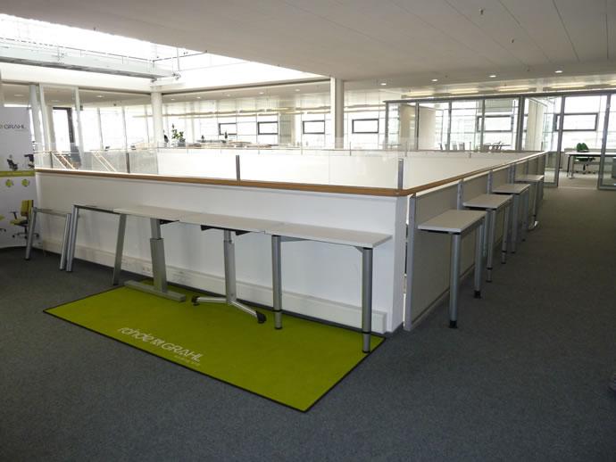 Ausstellung Tischgestelle Rohde und Grahl