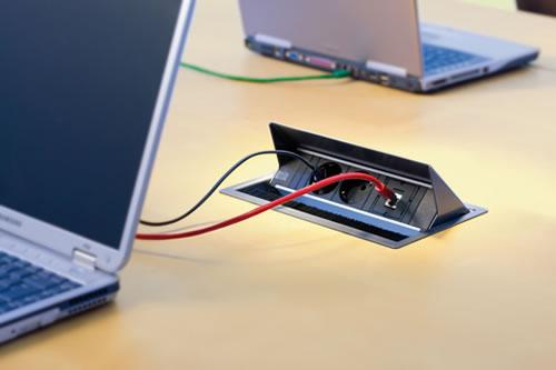 Steckerleiste klappbar Strom Netzwerk