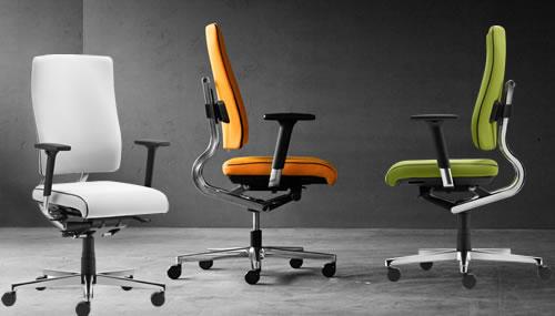 mono balance® Bürostuhl - Design mit dynamischer Rückenunterstützung