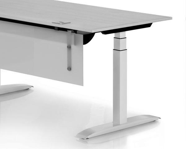 xio move elektrisch höhenverstellbarer Bürotisch in tollem Design in allen Bereichen einsetzbar.
