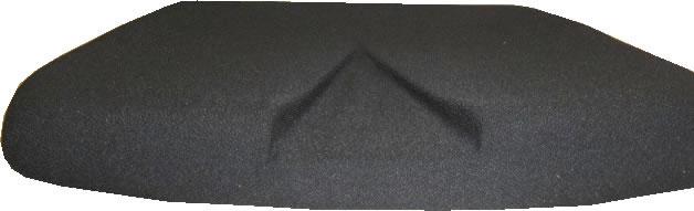 Steißbein – Aussparung beim Bürostuhl
