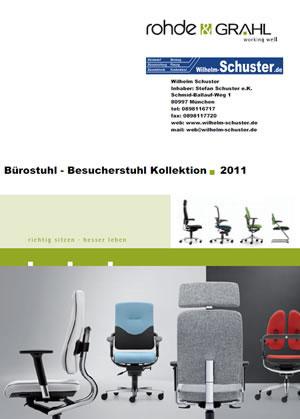 Erleben Sie Design und Ergonomie in Bürostuhl Besucherstuhl Katalog von Rohde & Grahl