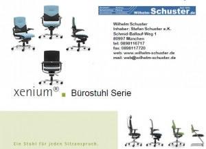 Xenium Bürostühlfamilie mit unglaublich großer Auswahl.