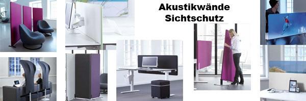 Sichtschutzwand – Schallschluckwand – Akustikwand Büro neu in unserem Onlineshop