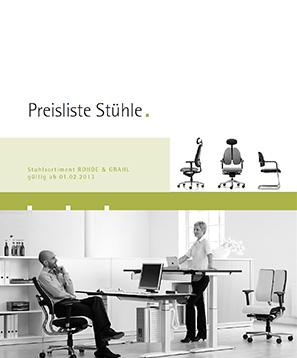 Bürostühle Rohde&Grahl Preiserhöhung