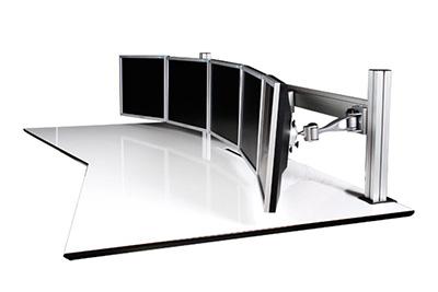 Monitorständer für 5 Montitore