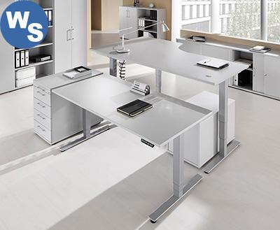 WS3 elektrisch höhenverstellbarer Bürostisch