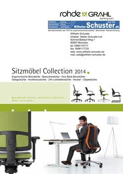 Rohde & Grahl Bürostühle - Besucherstühle Katalog 2014